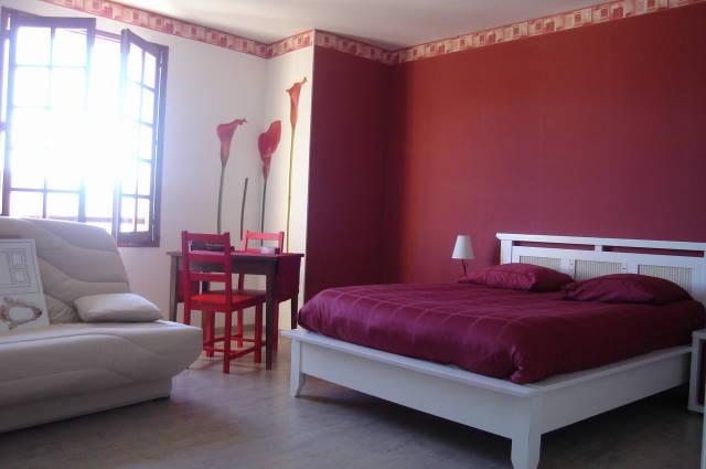 Mur Cuisine Rouge