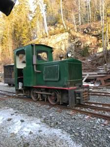 Restaurert lokomotiv