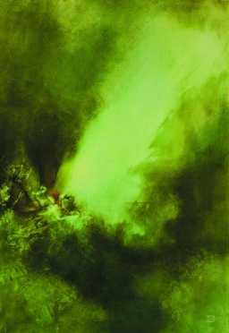 Auróra, vegyes technika, 70x100 cm, 1998