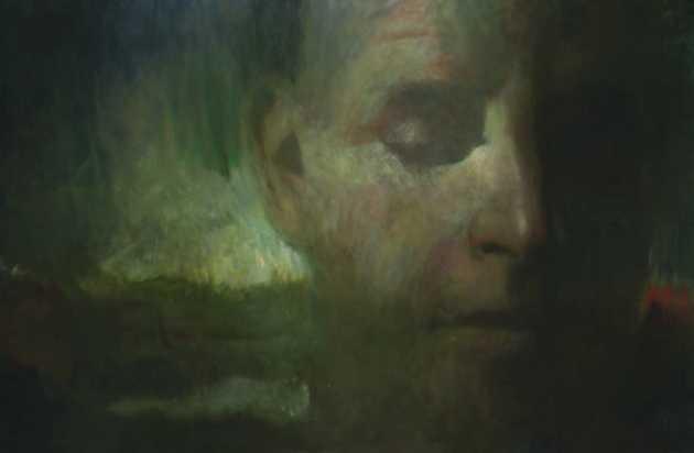 A folyó őrzője, olaj, vászon, 140x210 cm, 2005