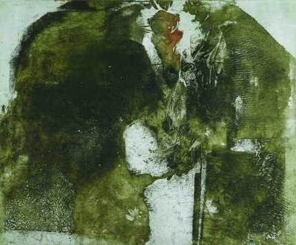 Egyszer volt..., aquatinta, 50x60 cm, 1990