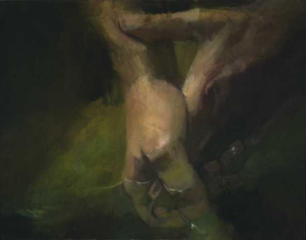Megtisztuló, olaj, vászon, 100x140 cm, 2008