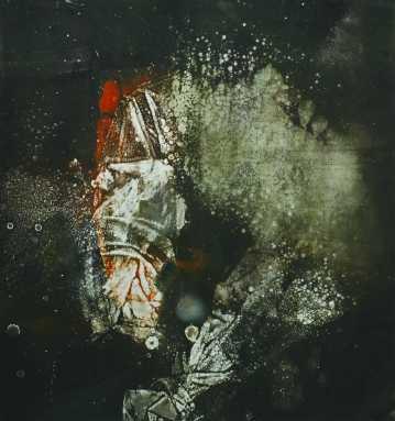 Morphogenesis I., monotípia, 50x50 cm, 1987