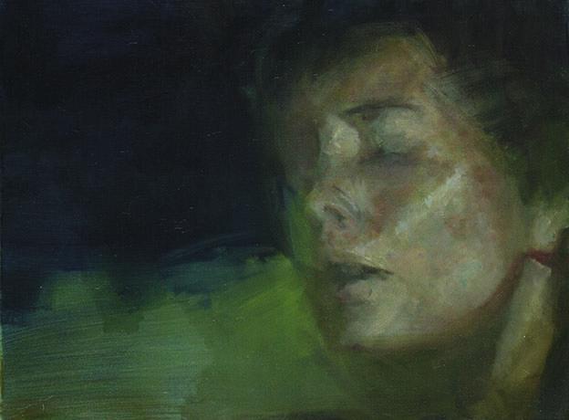 Hypnos, olaj, vászon, 60x80 cm, 2009