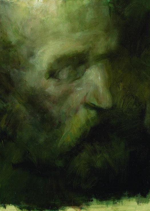 Kor, olaj, vászon, 70x50cm, 2009
