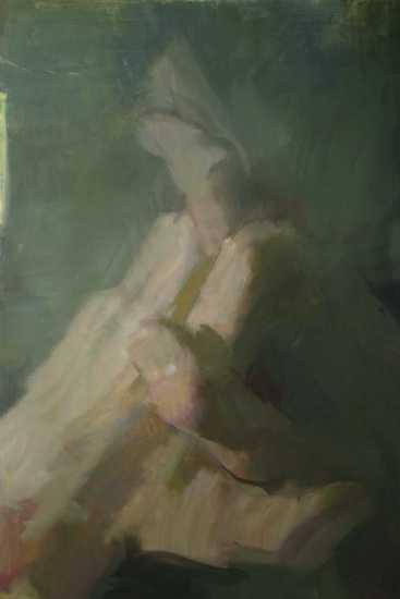 Torony, olaj, vászon, 210x140 cm, 2007