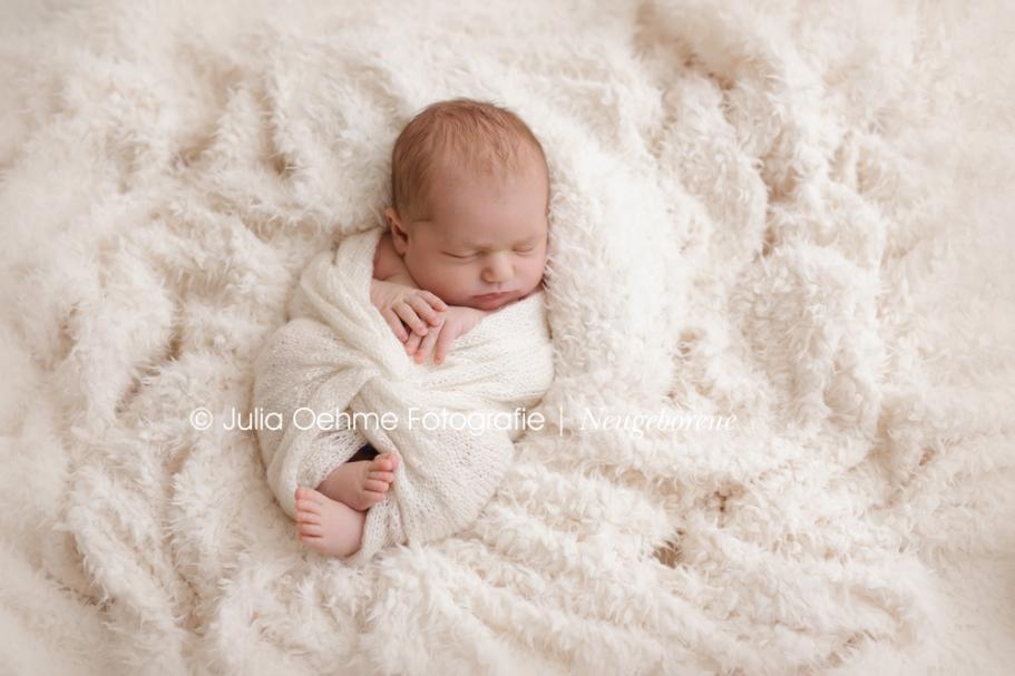 Babyfotos eines sen neugeborenen Mdchens in Leipzig