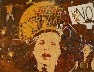 """""""BERNADETTE LA HENGST saves the World with a Melody"""" In 2015 habe ich das Crowd-Funding für Bernadette La Hengsts neues Album """"Save the World with This Melody"""" unterstützt. Dafür habe ich eine CD zugeschickt bekommen. Die hätte ich mir aber auch so gekauft. Bernadette La Hengsts ist die Königin des """"Diskursschlagers"""". Ihre Synthese aus Politik und Catchy Songs ist ziemlich zukunftsweisend, finde ich. [ Facebook-""""Freundin"""" seit: ach, weiß ich nicht mehr. So ungefähr seit 2010 ]"""