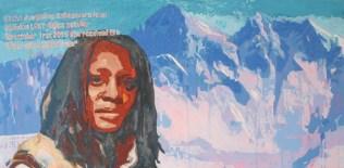 """""""KASHA JACQUELINE NABAGESERA at Mount Everest"""" Kasha Jacqueline Nabagesera habe ich zuerst auf einem Cover des Time-Magazine gesehen. Im September 2015 habe ich dann gelesen, dass sie für ihr Engagement für LGBTIQ*-Belange in Uganda den alternativen Nobel-Preis verliehen bekommt. Ich schätze mal, ihr ist kein Berg zu hoch. In Uganda sind nicht-hetero-normative Lebensweisen gesellschaftlich geächtet und lebensgefährlich. Das wird effektiv von fundamentalistischen christlichen Gruppen unterstützt. [ Facebook-""""Freundin"""" seit September 2015 ] * LGBTIQ : diese Abkürzung bedeutet: """"Lesbian – Gay – Bisexual – Trans – Intersexuell – Queer"""""""