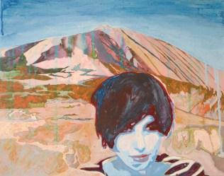 """""""SHARLEEN SPITERI at Mount Teide / Tenerife"""" Als ich im Herbst 2010 nochmals die letzte Staffel der US-Amerikanischen TV-Serie """"THE L-WORD"""" anschaute, blieb mir, während einer Party-Szene, der schöne Song """"Don't Keep Me Waiting"""" im Ohr. Er ist von Sharleen Spiteri. Und dann fiel mir wieder ein, dass das die Front-Frau der schottischen Band TEXAS ist. In dem Video zu """"Inner Smile"""" trat sie einst als Elvis auf. Der Teide ist mein Lieblings-Vulkan. Er gilt als nicht-erloschen und ist 3718m hoch. Ich war schon mal oben, in 2013. Unter Zu-Hilfe-Nahme der """"Teleferico"""" (Seilbahn). Da oben ist die Luft schon ein bisschen dünn. [ Facebook-""""Freundin"""" seit Herbst 2014 ]"""