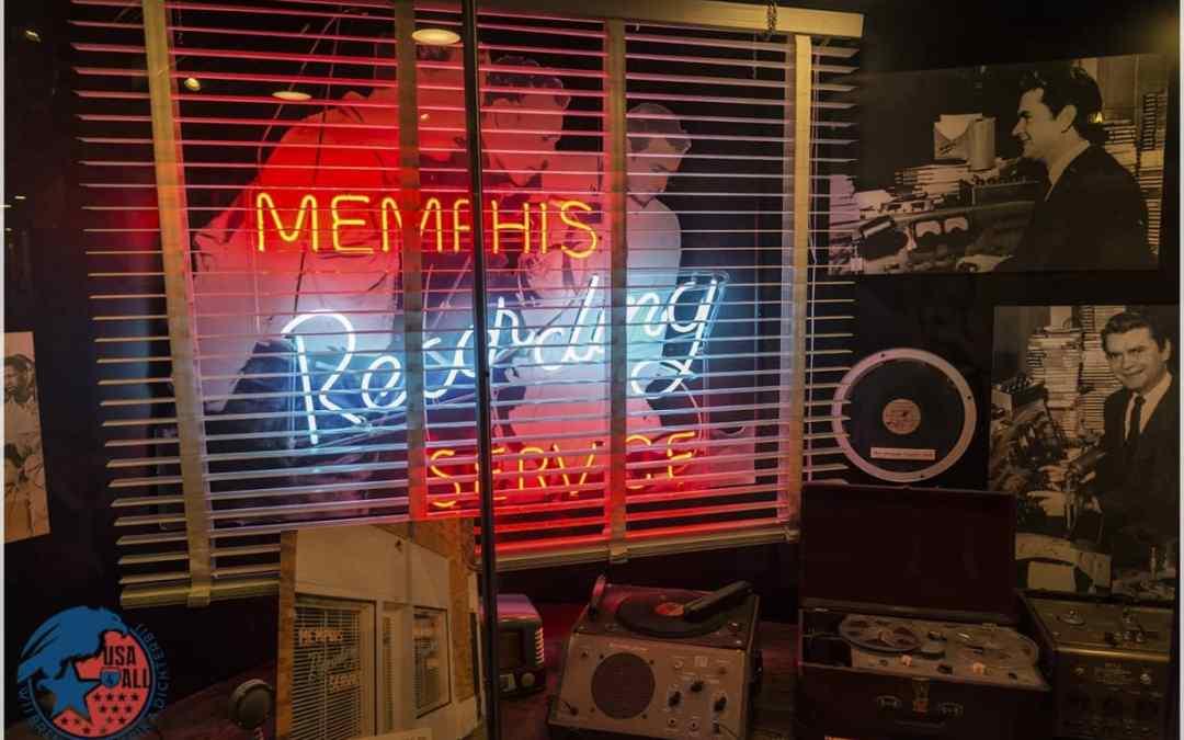 Sun Studio – Memphis – Hier zijn wereldsterren ontdekt!