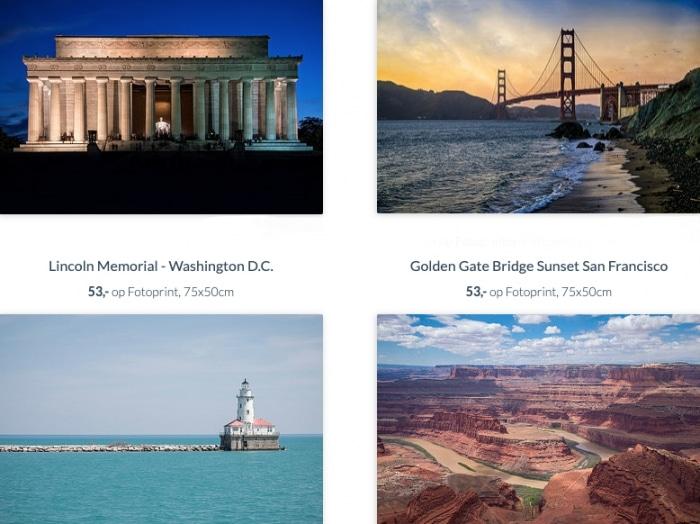 Amerikaanse foto aan de muur – Verenigde Staten van Amerika