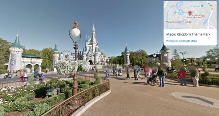 Disneyworld Florida virtueel - Magic Kingdom