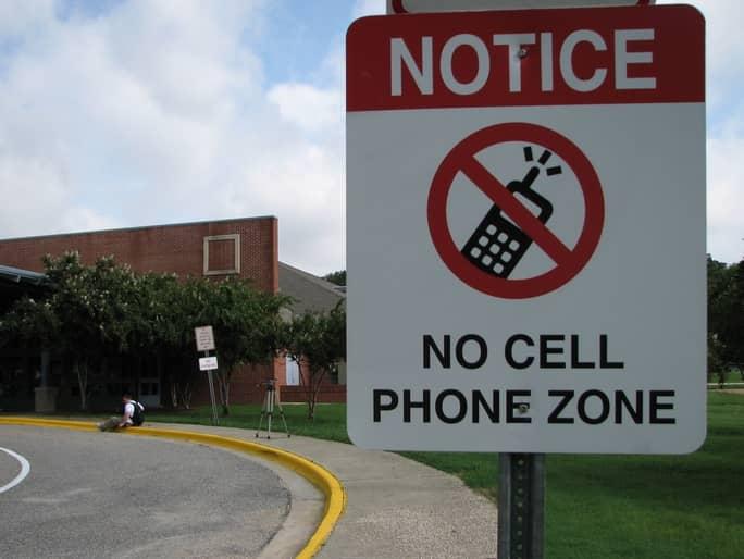 Green Bank, West Virginia – Verboden voor Wi-Fi en mobiele telefoons!