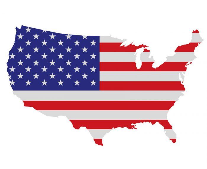 Alle 50 staten van de Verenigde Staten van Amerika