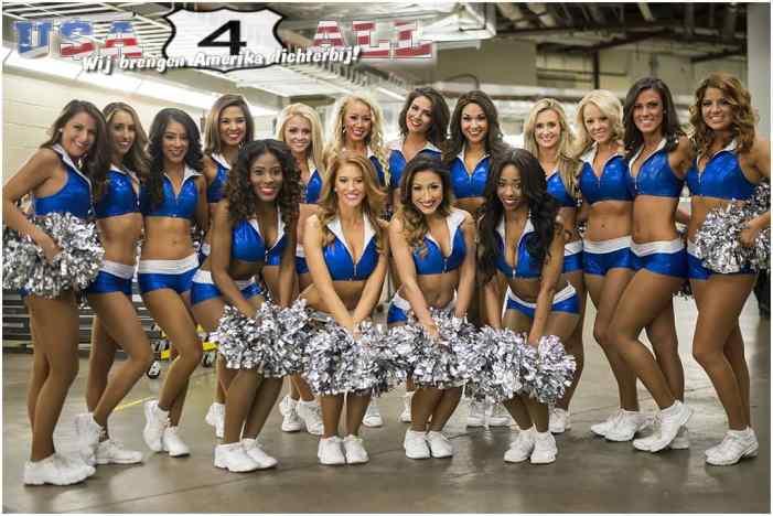 Cheerleaders Dallas Mavericks