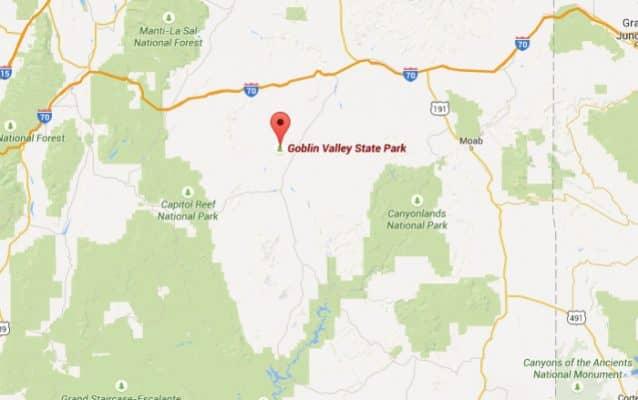 Goblin Valley - Locatie
