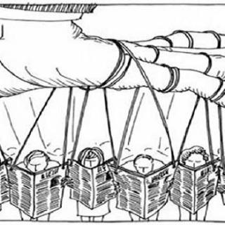 Media manipuleren, mediamachine