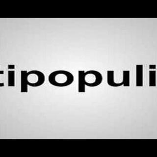 anti-populisme