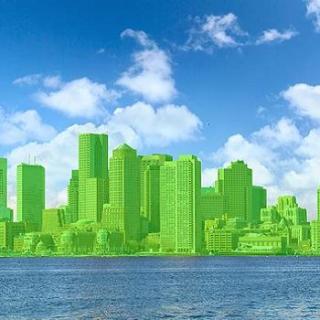Groene stad,, verkiezingsbeloften, oude industrie steden, Frankrijk, markteconomie