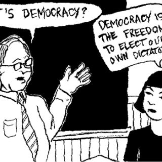 liberale democratie, aanslag op de democratie