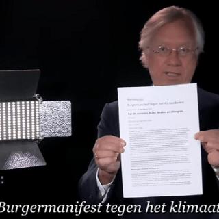 klimaatbeleid, klimaathoax, Burgermanifest klimaatbeleid