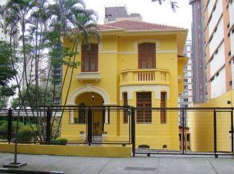 Casas Color Amarillo Exterior 1