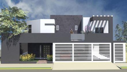 casas rejas fachadas blancas modernas casa colores gris horizontales portones blanco fachada frentes gran verticales queremos diferentes visitar combinacion clasicos