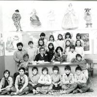 Compagni di classe - La Maestra Carla Castiglione 5°A anno 1980/1981