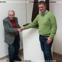 25 aprile a Monzuno - Mario Nanni, artista e partigiano, dona una sua opera