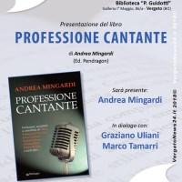 Incontri tra le pagine, al via la stagione autunnale presso la biblioteca di Vergato: il 29 ottobre c'è Andrea Mingardi