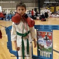 Il vergatese Mattia Scala (anni 11) si è aggiudicato l'oro in ben due categorie