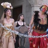 """Flash mob """"Onda Blu"""" - Palazzo comunale di Vergato"""