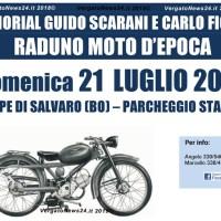 """A Pioppe il Memorial """"Guido Scarani e Carlo Fiorini"""" Raduno moto d'epoca"""