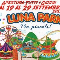 Luna Park per piccoli a Vergato dal 19 al 29 settembre
