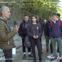 L'Amministrazione comunale di Vergato porta gli studenti del Fantini sul cantiere di Sanguineda