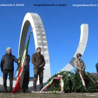L'addetto militare del Brasile a Gaggio Montano per ricordare i caduti di Monte Castello nel 75° anniversario