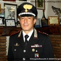 Il tenente colonnello Sabato Simonetti lascia la Compagnia Carabinieri di Vergato