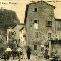 Saluti da Gaggio Montano - Il Gran Sasso e la Chiesa degli Emigranti