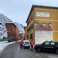 Prima neve  in Appennino... primi guai - Dott.ssa chiama i Carabinieri in soccorso
