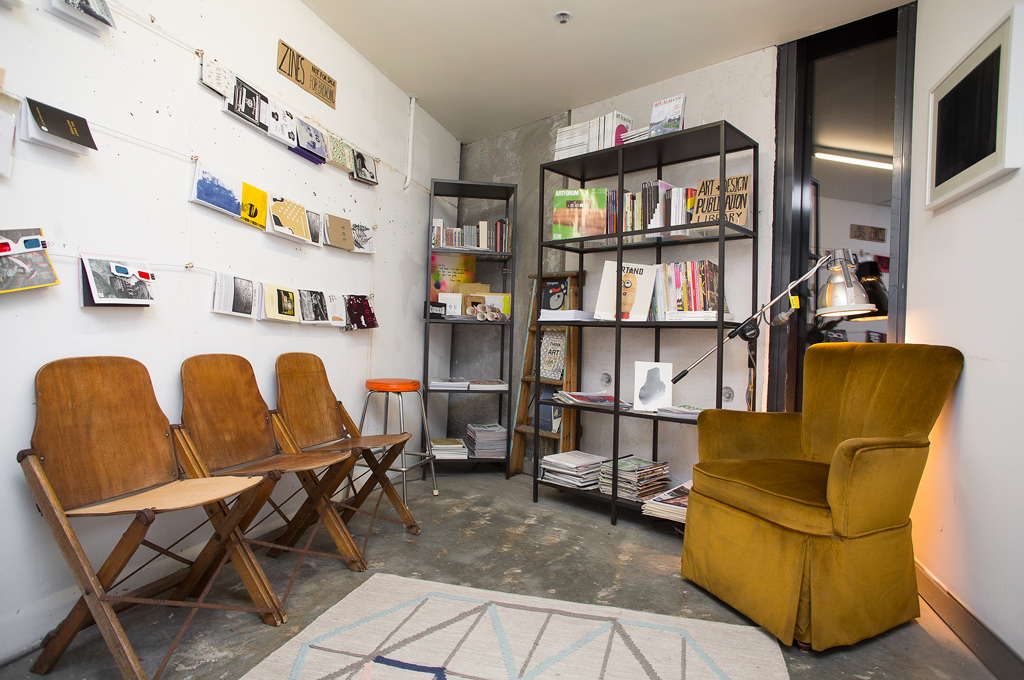 Verge Reading Room. Image by Document Photography.