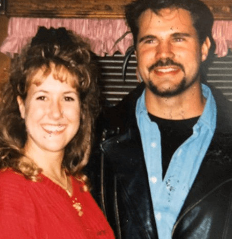 Chris Potoski With Wife