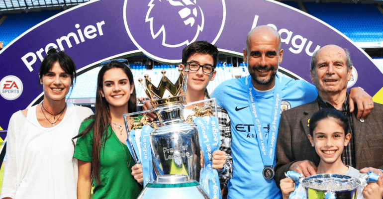 Marius Guardiola Family