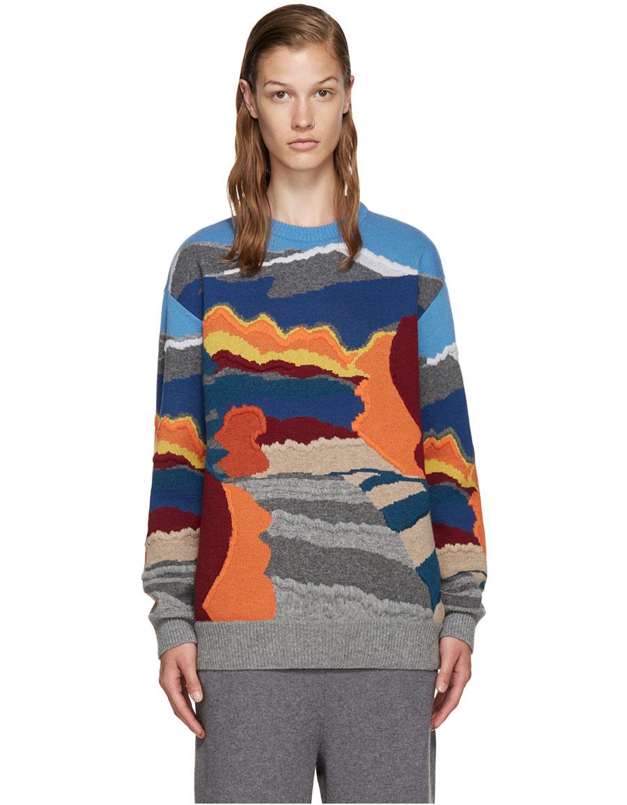 STELLA MCCARTNEY Multicolor Patterned Sweater