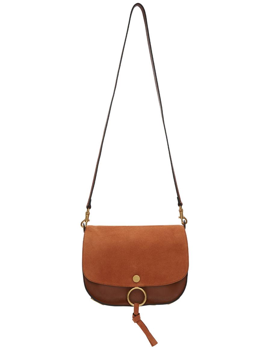 CHLOÉ Brown Medium Kurtis Bag