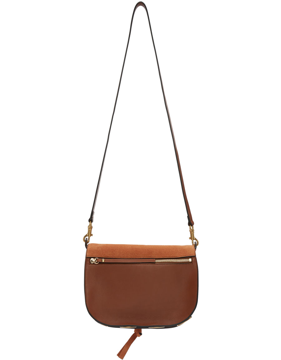 CHLOÉ Brown Medium Kurtis Bag