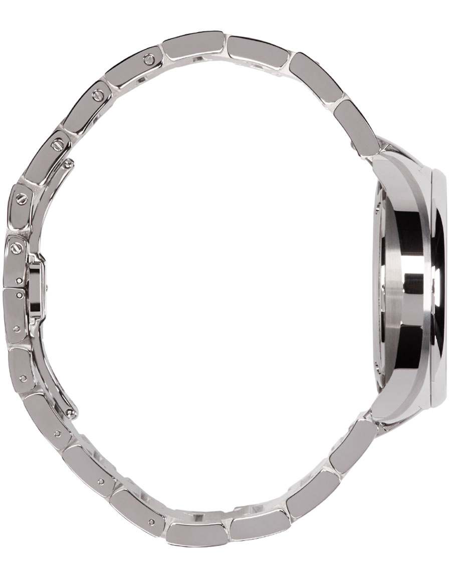 FENDI Silver Momento Bugs Watch