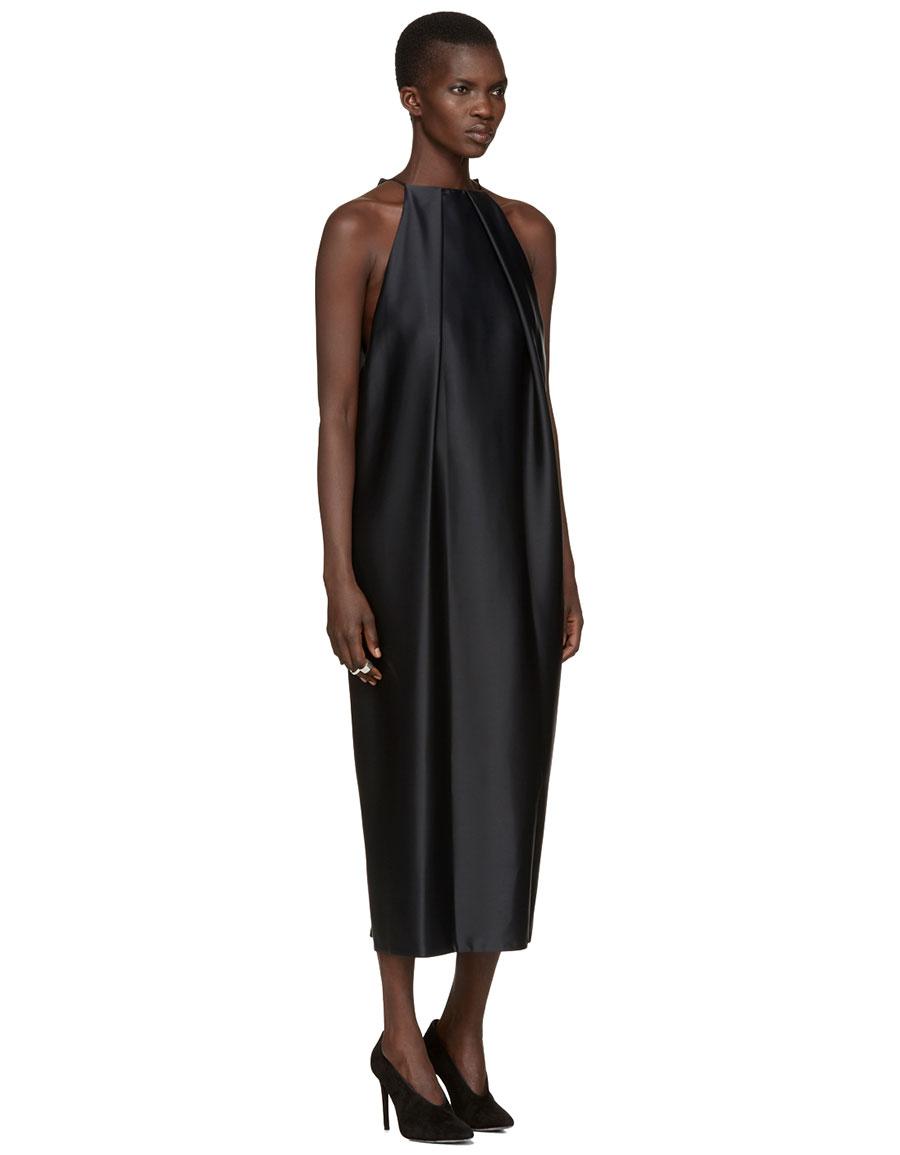 PROTAGONIST Black 45 New Brancusi Dress