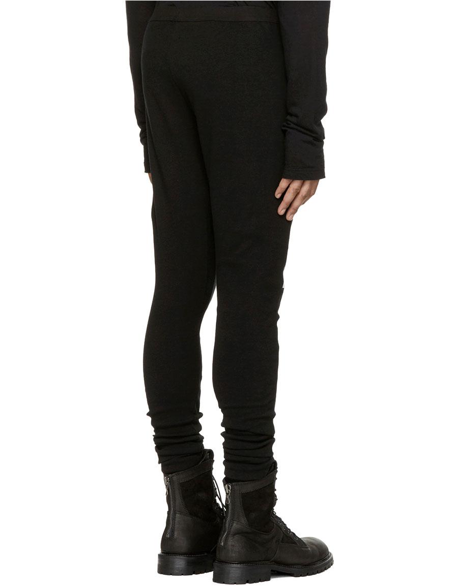 JULIUS Black Printed Lounge Pants