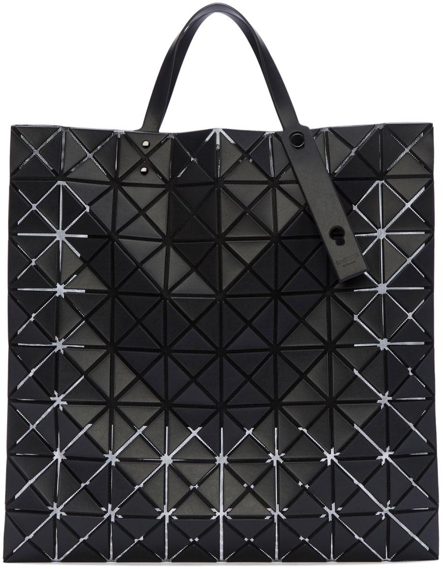 BAO BAO ISSEY MIYAKE Black Lucent Pro Geometric Tote